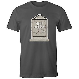 Boys Crew Neck Tee Short Sleeve Men's T Shirt- Buffy Anne Summers