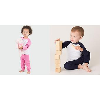 Larkwood Baby Unisex Pyjama Top & Bottoms Set