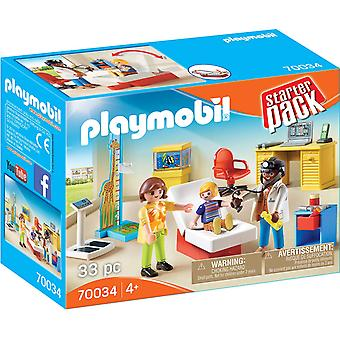 Playmobil 70034 Starter Pack Toy Pediatrician's Office 33PC Playset Pretend Play
