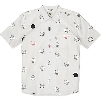 Element Polka Smile Short Sleeve T-Shirt in Hello Off White
