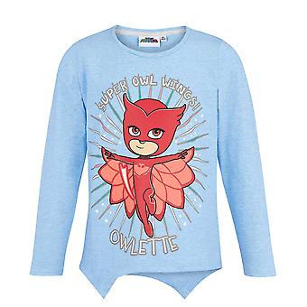 Pj masks girls long sleeve t-shirt