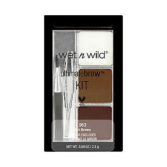 Wet n Wild Color Icon Brow Kit-Ash Brown 2, 5g