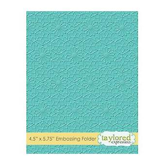 Taylored Expressions Kaleidoscope Embossing Folder (TEEF51)