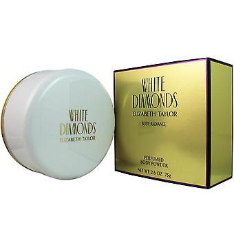 White diamonds by elizabeth taylor 2.6 body powder