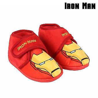 House Slippers Ironman 73323 Red