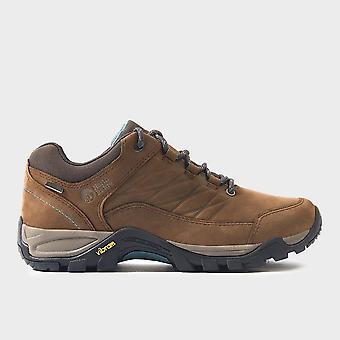 Neue North Ridge Frauen's Luxor Low Walking Schuhe dunkelbraun