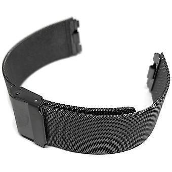 Authentic skagen black milanese mesh watch bracelet for skagen 233xltmb