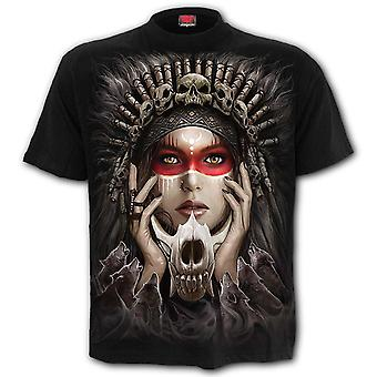Spiral Cry of the Wolf T-paita