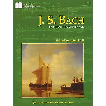 J.s Bach Twopart Inventions Niel A. Kjos Master Composer Library for Piano Students by J S Bach