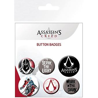Assassins Creed Mix Pin Buton Rozetleri Seti
