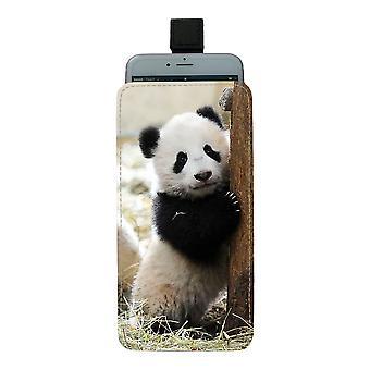 Panda Pull-up Mobile Bag