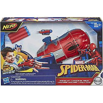 Power Moves Marvel Spider-Man Web Blast Web Shooter Kids Roleplay Speelgoed