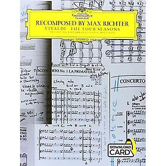 Richter Max Vivaldi Recomposed Piano & Violin Book & Download Card