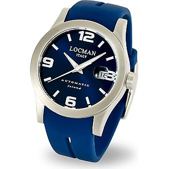 LOCMAN - Wristwatch - Men - 0615V04-00BLWSIB - ISLAND ONLY TIME AUTOMATIC