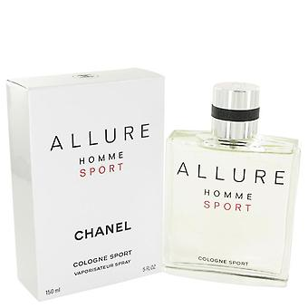 Allure Sport Eau De Toilette Spray By Chanel 5 oz Eau De Toilette Spray