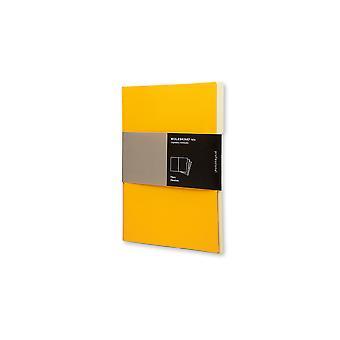 Moleskine 3 folio professional filers dark