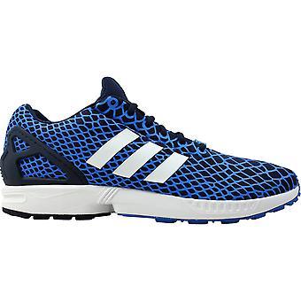 Adidas ZX Flux Techfit Blue Bird/Core Navy-Footwear White B24932 Men's