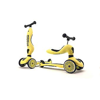 scoot and ride highwaykick 1 2in1 scooter lemon ages 1-5 years