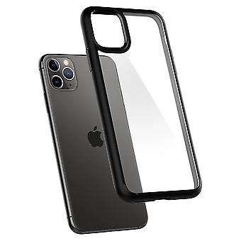 Case Voor iPhone 11 Pro Ultra Hybrid Black Mat