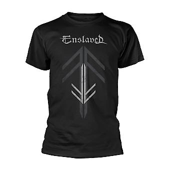 Enslaved Rune Cross Officiel Tee T-Shirt Unisex