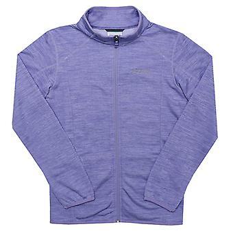 Girl's Columbia Junior Wilderness Way Fleece Jacket in Purple