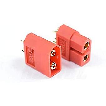 YUNIQUE FRANCE- 5 Paires XT60 de Haute qualité mâle-Femelle connecteurs pour Batteries de modélisme RC Lipo Couleur Rouge ZF-PPKK-J7DB