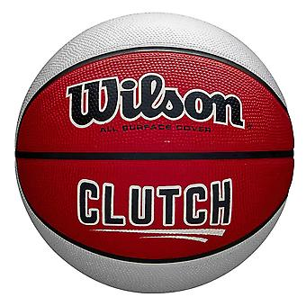 Wilson Clutch All Surface Cover Basketball Ball Red/White