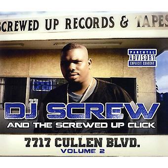 DJ Screw & the Screwed - DJ Screw & the Screwed: Vol. 2-7717 Cullen Blvd [CD] USA import