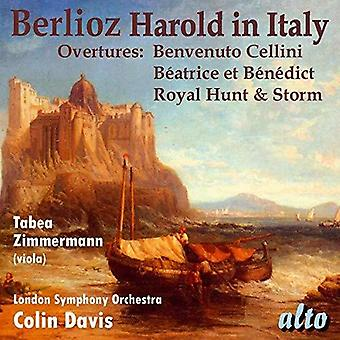 Davis, Colin / London Symphony Orechestrs - Berlioz: Harold in Italy & Three Overtures: [CD] USA import