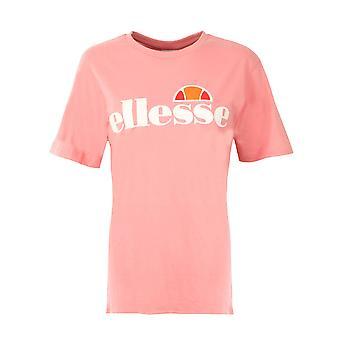 Ellesse наследия Олбани Сезонные женщины Дамы Мода футболка Ти Розовый