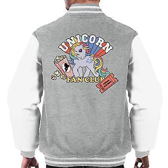 My Little Pony Unicorn Fan Club Uomini's Giacca Varsity