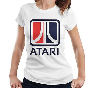 Atari Two Tone Box Logo Women's T-Shirt