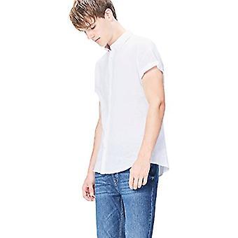 Vinden. Heren's Standard Slim Fit, Wit, L