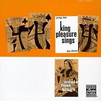 Nöje/Ross - King Pleasure sjunger/Annie Ross [CD] USA import