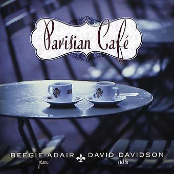 Beegie Adair & David Davidson - Parisian Cafe [CD] USA import