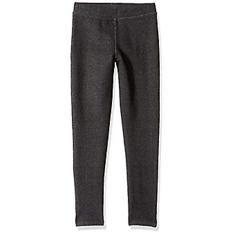 / J. Crew Brand- LOOK by Crewcuts Girls' Knit Jegging, Black, Large (10)