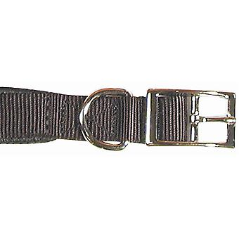 Rosewood Classic Soft Protection Nylon Padded Collar - Black - 14x5/8 inch