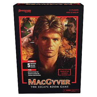 Games - Pressman Toy - MacGyver: The Escape Room Game New 2251