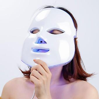 Led světelná terapie obličejová maska pro fotonové terapie led obličejová maska, korejská kůže