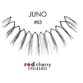 Red Cherry False Eyelashes - #83 Juno - Perfect Curl Handcrafted Lashes