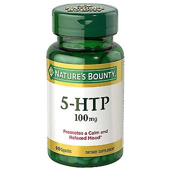 Nature's bounty 5-htp, 100 mg, capsules, 60 ea *