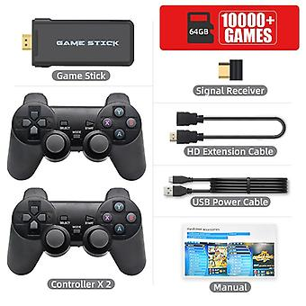 Retro Video Game Console With 2.4g Wireless/wired Gamepads 600 Games For Hdmi Family Tv Game Console For Gba/snes