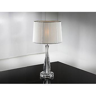 Bordlampe Sølv, E27