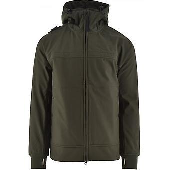MA.STRUM Oil Slick Full Zip Hooded Softshell Jacket
