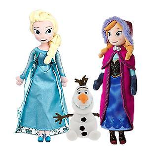 Gefrorene Prinzessin Anna & Elsa Plüsch - süße Puppen weiche Kissen für Baby, Geburtstag