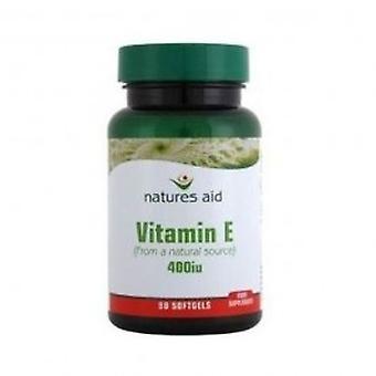 Auxílio de naturezas - cápsula de 60 de 200 UI de vitamina E