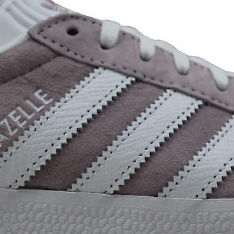 Adidas Gazelle W White/Light-Purple EE5540 Women's