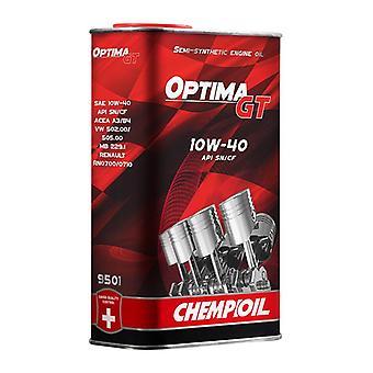 1L Chempioil Optima GT 10W-40 Engine Oil API SN/SM/CF Acea A3/B4 MB 229.1