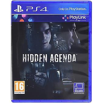 Rejtett napirend PS4 játék
