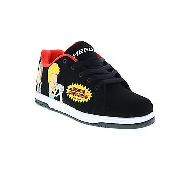 Heelys Split Beavis and Butthead  Mens Black Synthetic Lifestyle Sneakers Shoes